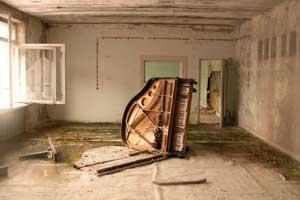 В здании музыкальной шолы