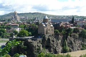 Недалеко от серных бань. Тбилиси. Автор фото: Любен
