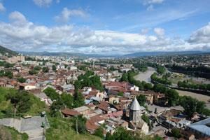 Панорама Тбилиси. Автор фото: Любен